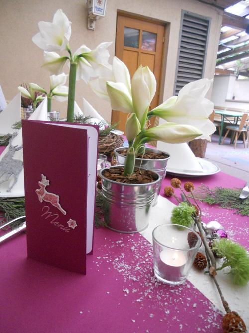 Feier - Tischdekoration