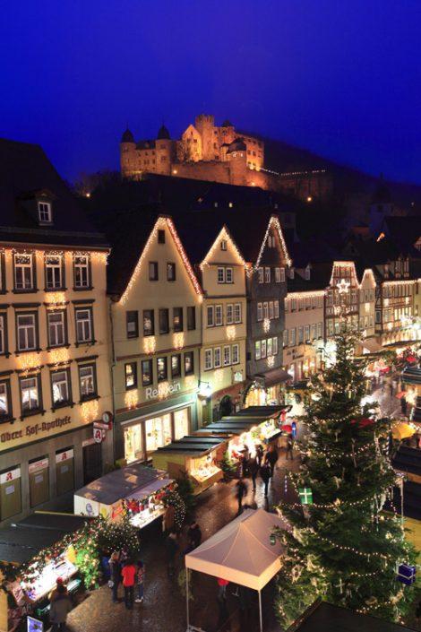 Wertheim zur Weihnachtszeit