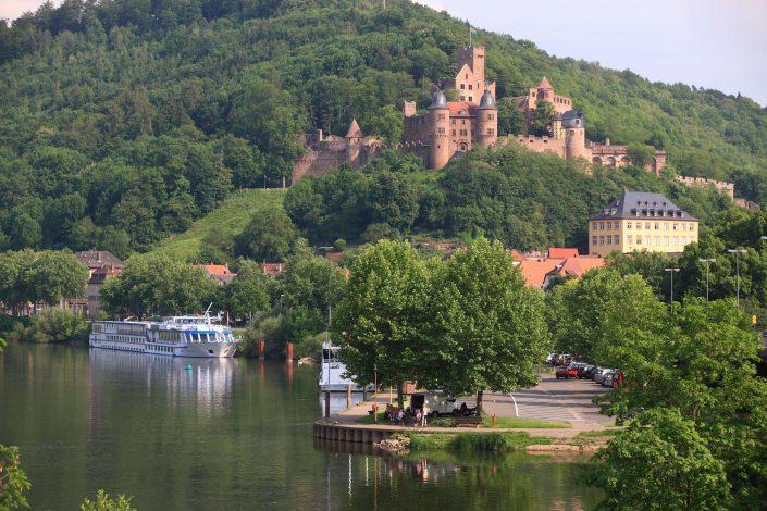 Burg und Main